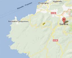 carte littoral sartene_tizzano