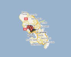 image map Schoelcher
