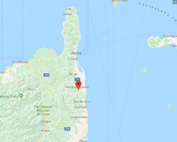 carte littoral Taglio-Isolaccio