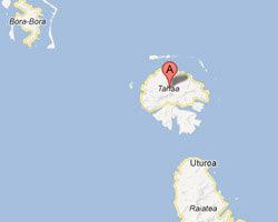 carte littoral Tahaa