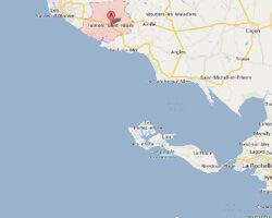 carte littoral talmont_saint_hilaire
