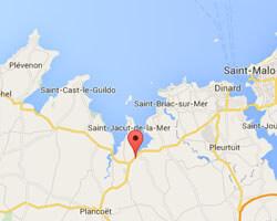 carte littoral Trégon
