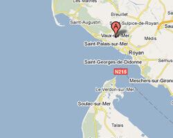 kuste am meer Vaux-sur-Mer
