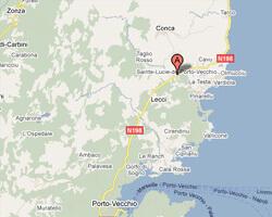 carte littoral zonza_sainte_lucie_de_porto_vecchio